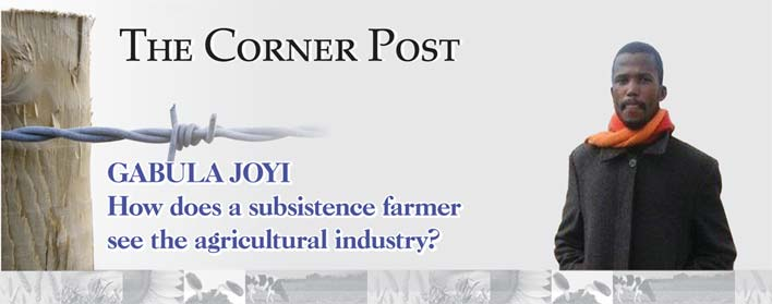 GABULA JOYI: How does a subsistence farmer see the agricultural industry?