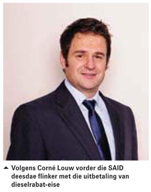 Jan Taks se probleme met uitbetalings word aangespreek