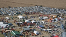 Aerial shot of NAMPO Park