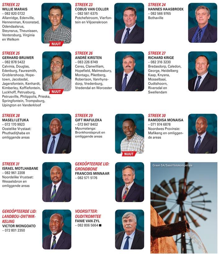 Graan SA se Hoofbestuurstruktuur soos op 3 Maart 2016