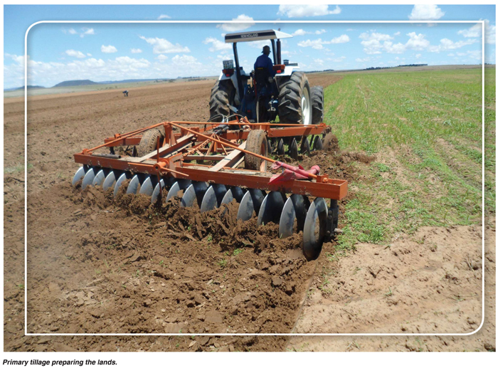 various grain cropping practises one can observe the various attempts on our farming lands to introduce or continue with minimum or conservation tillage