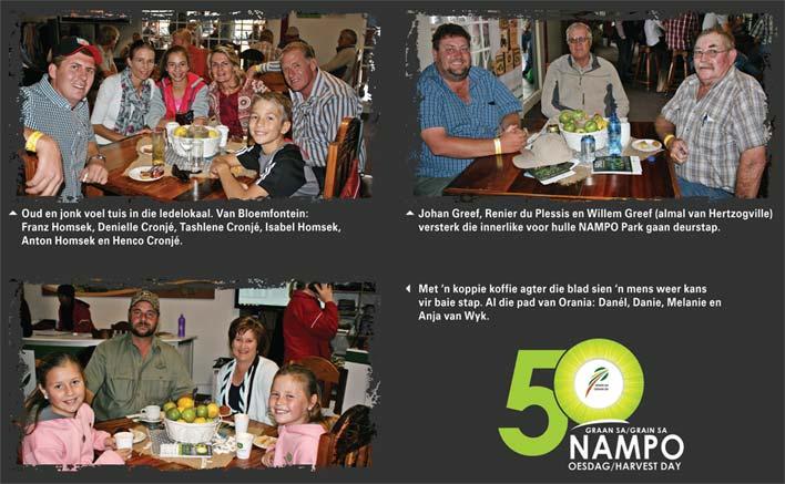 Fotobeeld van die Graan SA NAMPO Oesdag