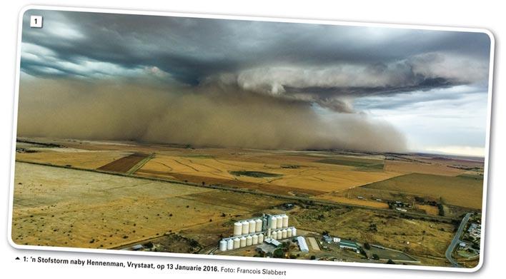 Omgekrapte weerpatrone en verwoestende stofstorms: Die oplossing le reg onder ons voetsole - Deel 16